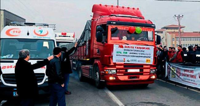 Türkmenlere yardım için Erkoç'tan teşekkür