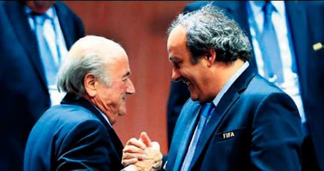 Blatter Platini'yi sattı!