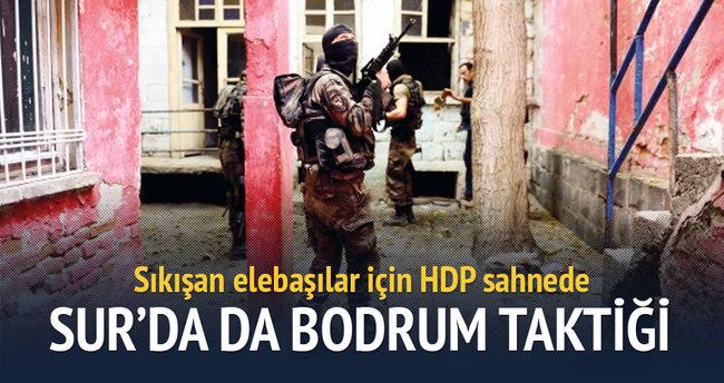 Sıkışan elebaşılar için HDP sahnede