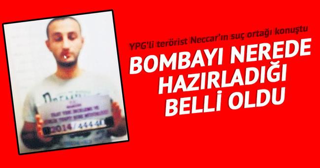 YPG'li bombacı Ankara'da yaptı butonla patlattı