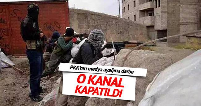 PKK'nın medya ayağına darbe