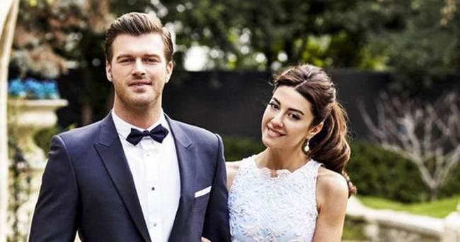 Kıvanç Tatlıtuğ ve Başak Dizer sade bir törenle evlendi