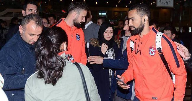 Trabzonspor 6 eksikle İstanbul'da