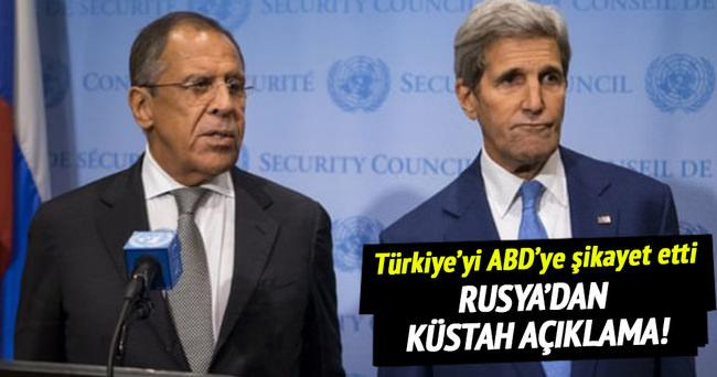Rusya'dan küstah Türkiye açıklaması