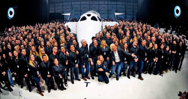 Uzaya turistik seyahat hayalinde ikinci perde