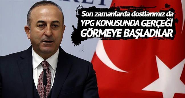 'YPG gerçeği nihayet görülmeye başlandı'