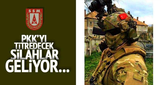 PKK'ya karşı yeni teknolojiler geliyor