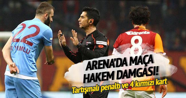 Galatasaray Trabzonspor'u mağlup etti