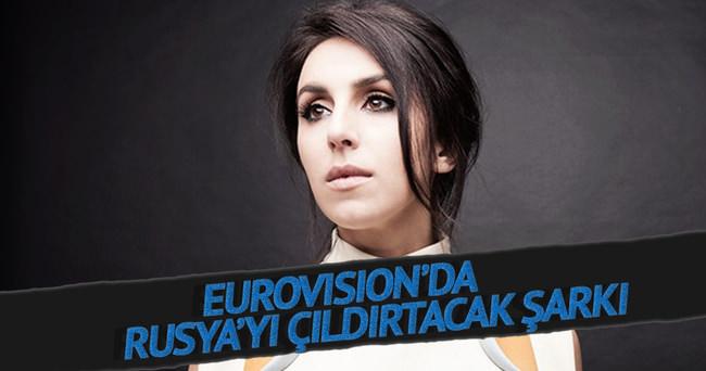 Eurovision'da Rusya'yı çıldırtacak şarkı