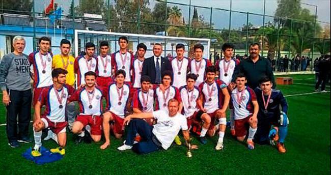Okullararası futbol il birinciliği tamamlandı