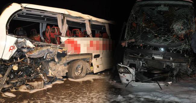 Şoförlerin sabırsızlığı ölümlü kazaya neden oldu!