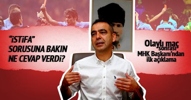 Kuddusi Müftüoğlu'ndan istifa açıklaması
