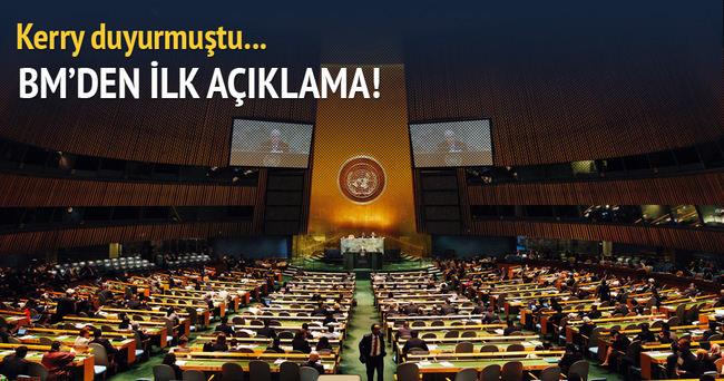 BM'den Suriye'deki ateşkese ilişkin ilk açıklama