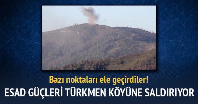 Suriye'de Esad güçlerinin hedefi Türkmen köyü