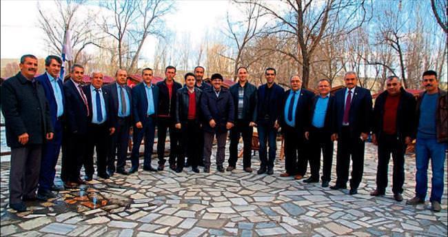 Ziraat odası başkanları Afşin'de bir araya geldi