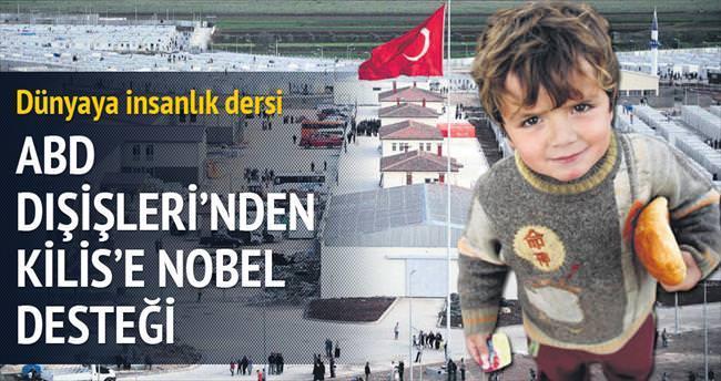 ABD Dışişleri'nden Kilis'e Nobel desteği