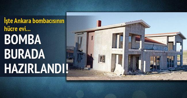 İşte Ankara bombacısının hücre evi!