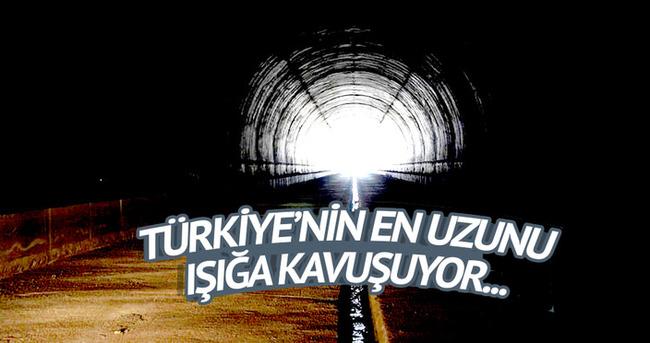 Türkiye'nin en uzunu ışığa kavuşuyor
