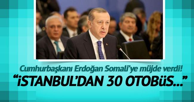 Cumhurbaşkanı Erdoğan Somali Zirvesi'nde konuştu