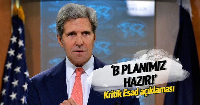 Kerry: Ateşkesin bozulma ihtimaline karşı B planı hazır