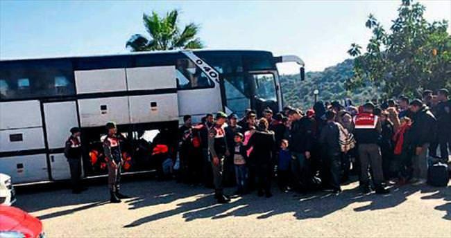 Antalya'da 207 Suriyeli yakalandı
