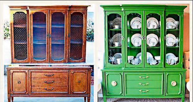 Eskiyen mobilyanızı boyayarak yenileyin