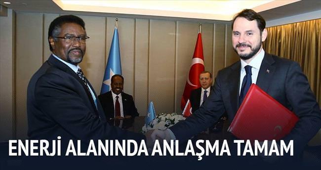 Somali ile elektrik alanında işbirliği