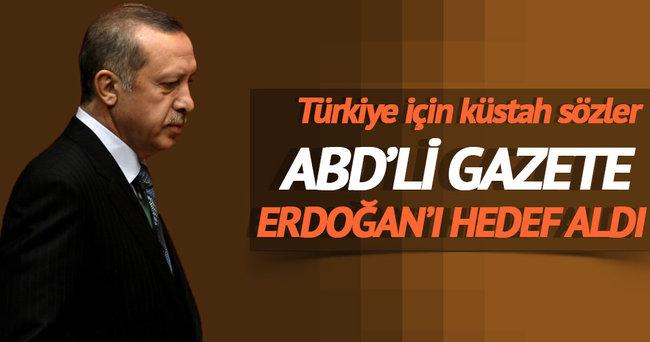 ABD'li gazete Erdoğan'ı hedef aldı