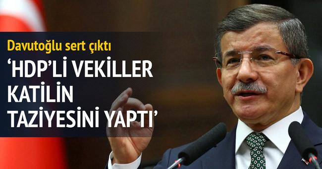 HDP'li vekiller katilin taziyesini yaptı