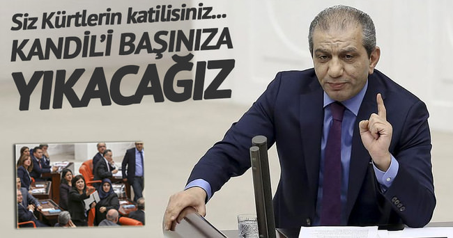 Zeyid Aslan: Kandil'i başınıza yıkacağız