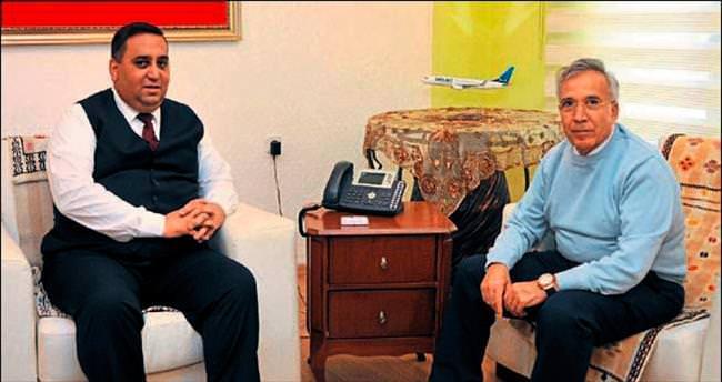 Gazeteci Donat'tan Başkan Can'a ziyaret