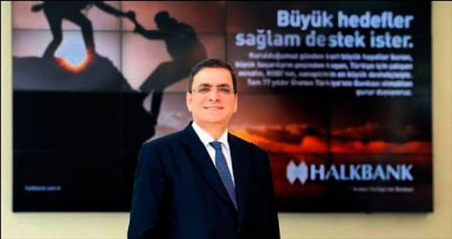 Halkbank'ın 2015 net kârı 2.3 milyar lira