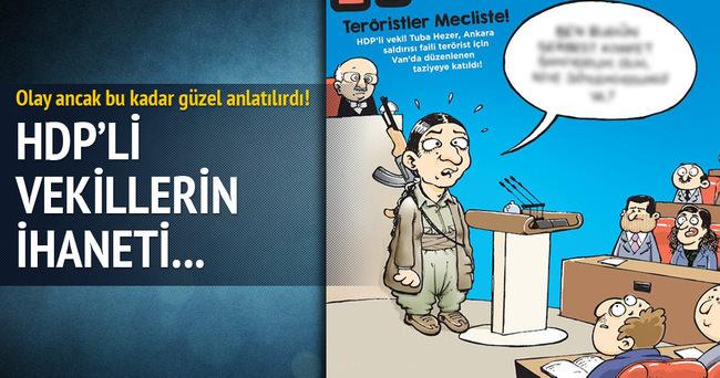HDP'li Tuğba Hezer Hacamat'ın kapağında!