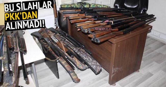 Van'da av yasağına uymayanların silahlarına el konuldu!