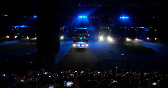 Mercedes-Benz'in amiral gemisi yeni Travego yollarda
