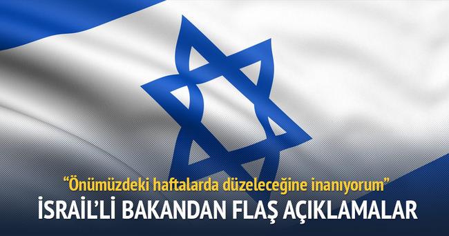 Türkiye İsrail arasındaki ilişkiler önümüzdeki haftalarda düzelecek