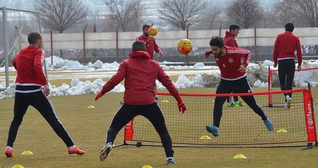 Sivasspor, Antalyaspor maçı hazırlıklarını sürdürdü