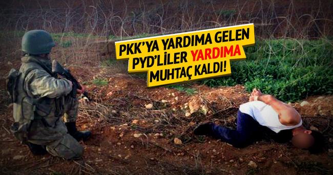 Türkiye'ye sızmaya çalışan PYD'liler böyle yakalandı!