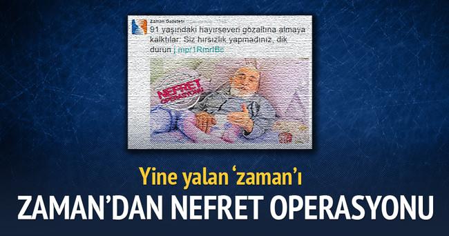 """Zaman Gazetesi'nin Hasta Yatağında Gözaltına Almaya Kalktılar"""" Yalanı"""