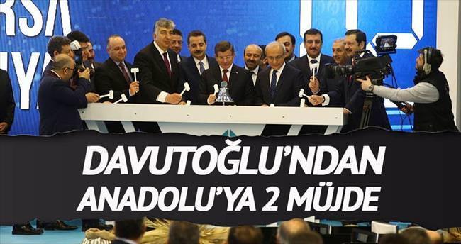 Anadolu'ya borsa müjdesi