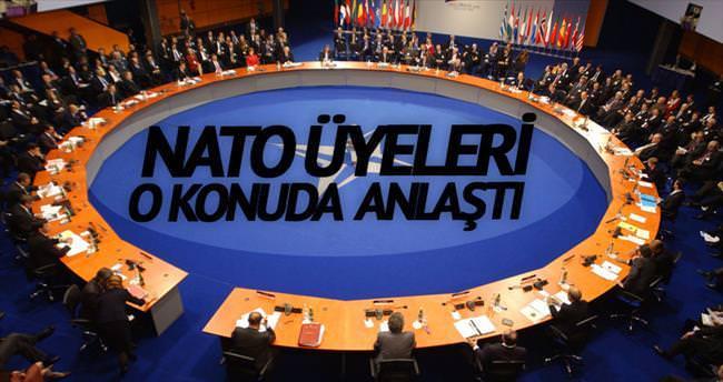 NATO üyeleri Ege'de uzlaştı