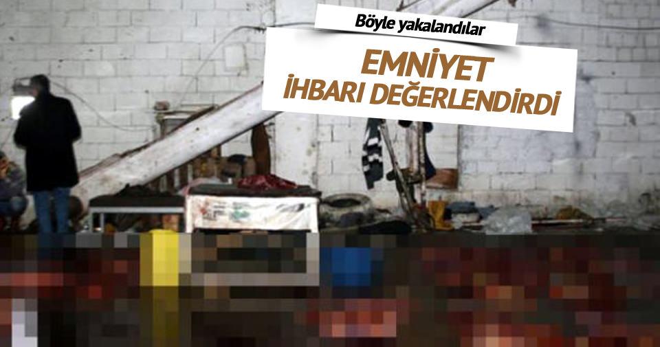 İzmir'de kaçak at kesim yerine baskın