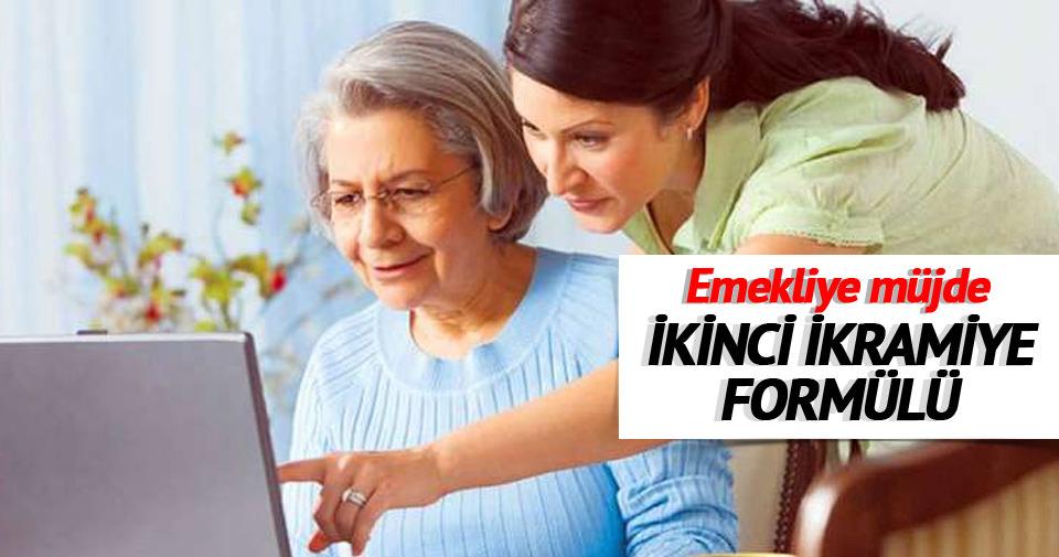 Emekliye ikinci ikramiye formülü