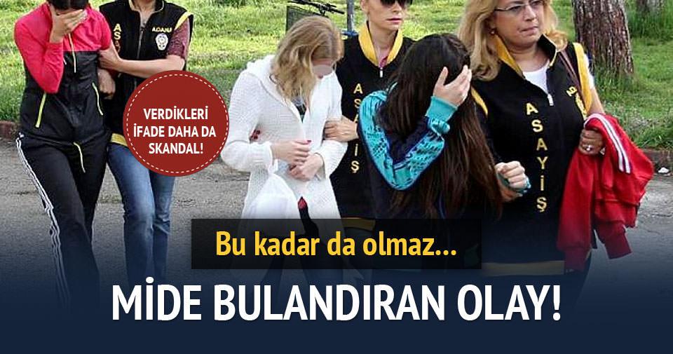 Adana'da eş değiştirmeli fuhuş operasyonu!