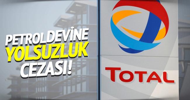 Fransız petrol şirketine şok ceza