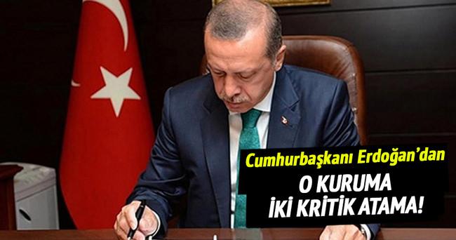Cumhurbaşkanı Erdoğan'dan YÖK üyeliklerine atama