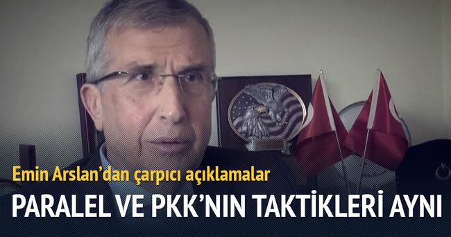 Paralel yapı ve PKK'nın taktikleri aynı