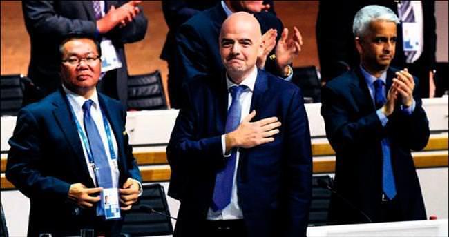 FIFA başkanını seçti Gianni İnfantino