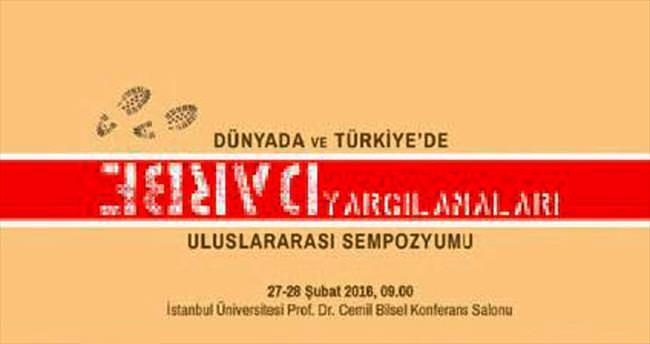 İstanbul Üniversitesi'nde darbe sempozyumu
