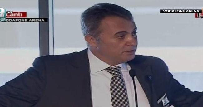 Fikret Orman'dan flaş Vodafone Arena ve başkanlık açıklaması
